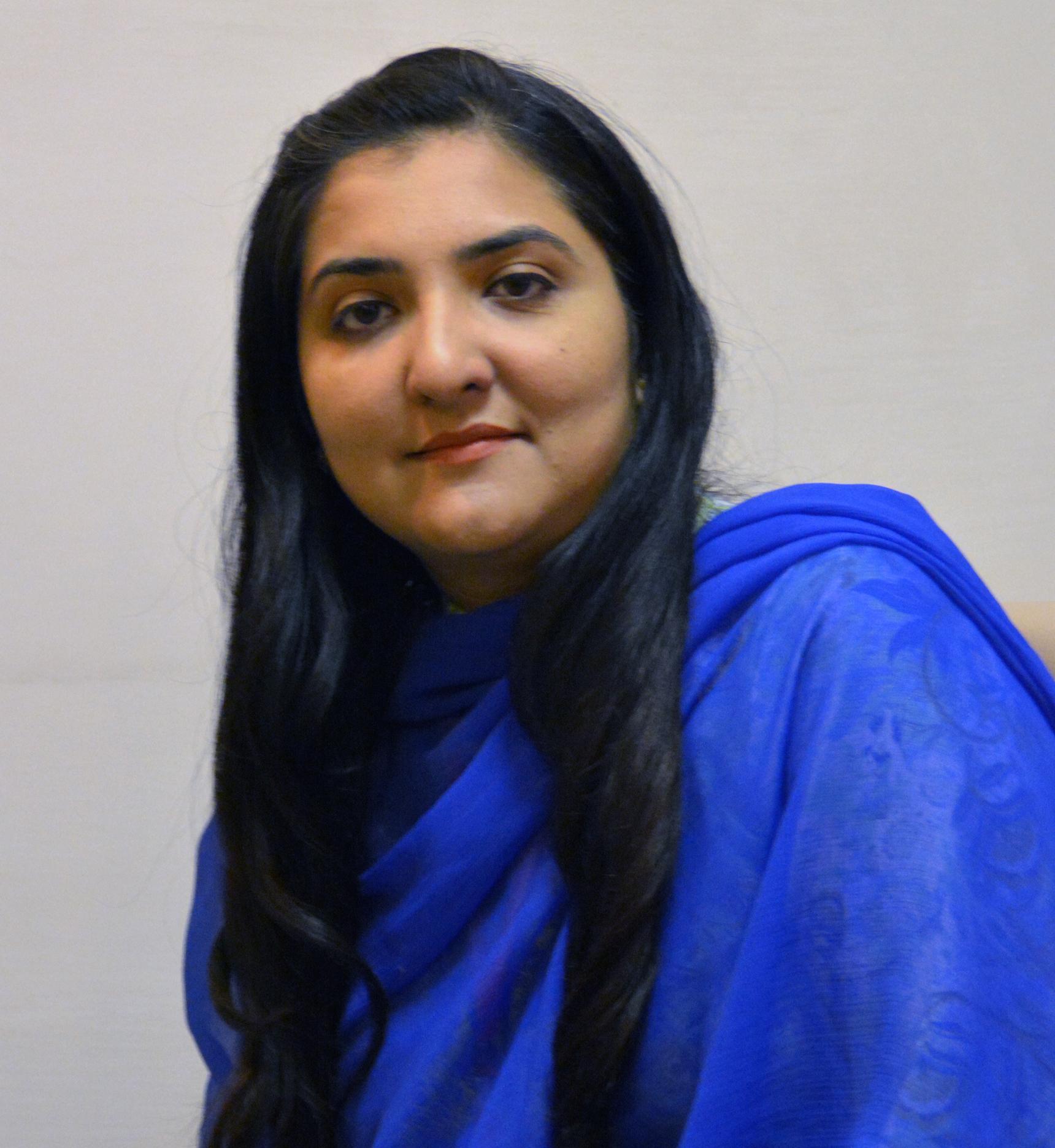 Ms. Durr-e-Shehwar (Assistant Professor)