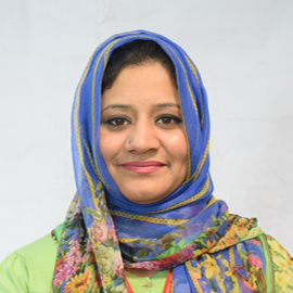 Dr. Nazima Ellahi (HoD, Economics and Finance)